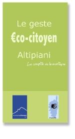geste eco-citoyen